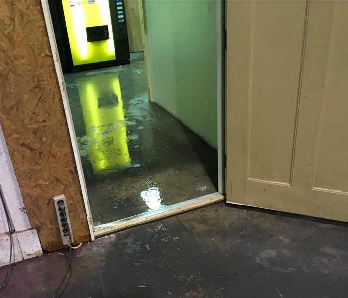 Commercial building water damage