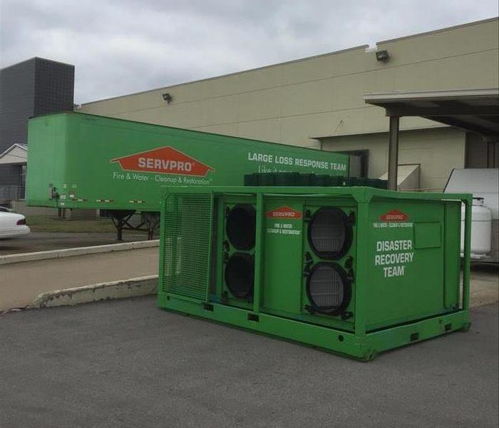 SERVPRO Commercial Dryers
