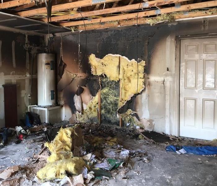 Fire Damage in a Keller Texas Home