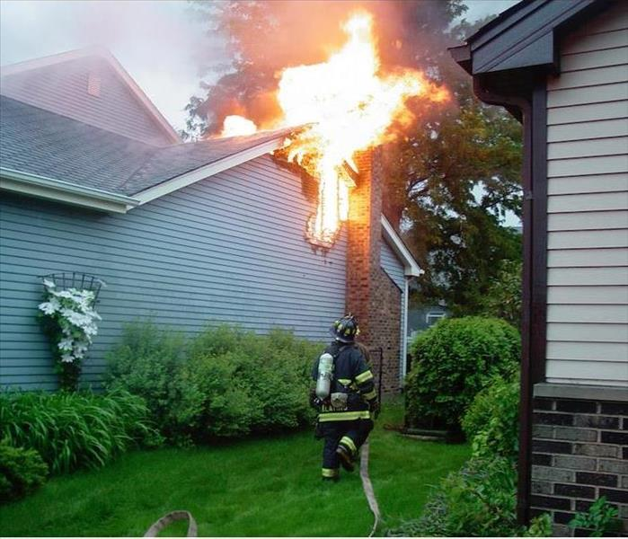 Fire Damage Firefighters That Have Responded to a Fire Can Cause Intense Water Damage in Your Fort Worth Home