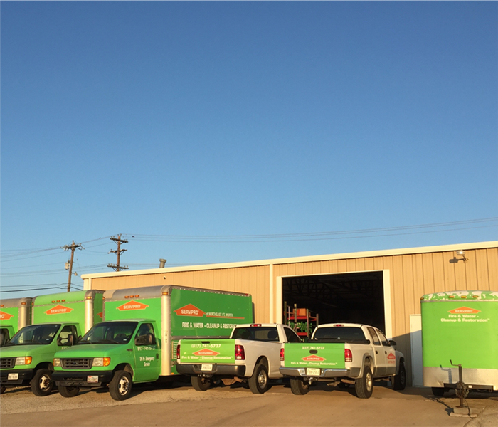 Why SERVPRO Why SERVPRO - Sealing The Crawl Space In Fort Worth Homes