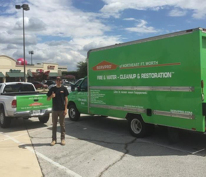 Commercial SERVPRO Professionals are Ready to Restore Commercial Water Damage in Keller
